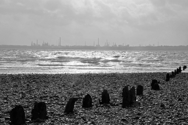 Fawley Refinery Across The Solent