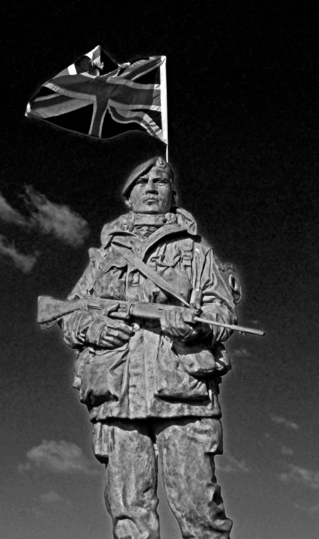 Royal Marines Statue