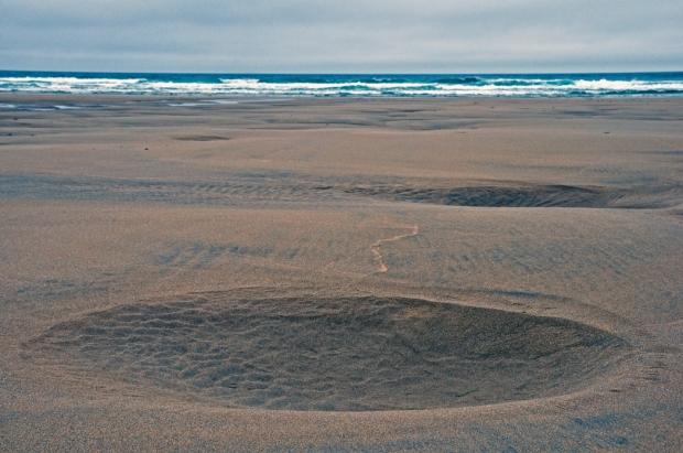 A Lunar Beach